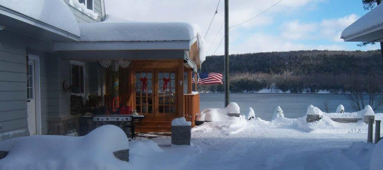 Cobblescote in the Snow